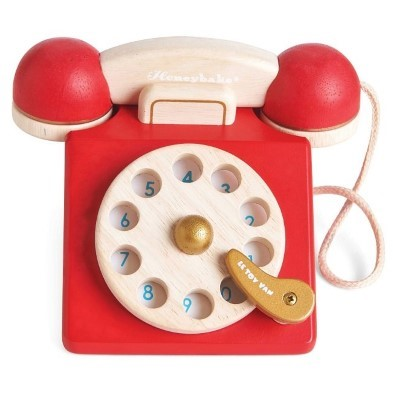 TElephone wooden vintage by le toy van