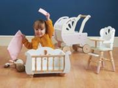 baby cot pram and chair
