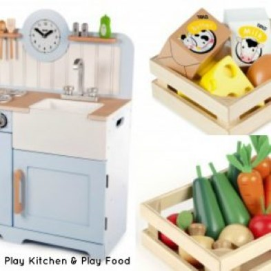 Toy Kitchen Role Play Fun