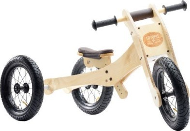 Try bike wooden tricycle