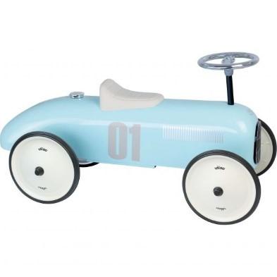kids room decor blue vilac car