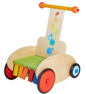haba walker wagon clickety clack speedster