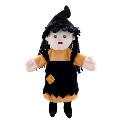 witch hand puppet by the puppet company