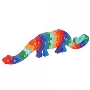 Dizzie the Dinosaur a-z jigsaw