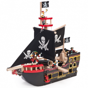 Barbarossa pirate ship and papo Pirates