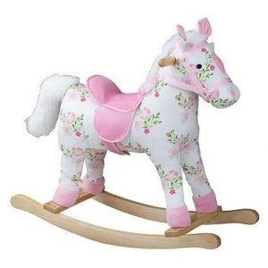 Bigjigs floral rocking horse