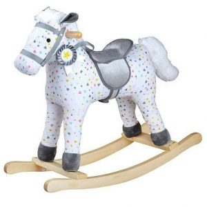 bigjigs patterned rocking horse