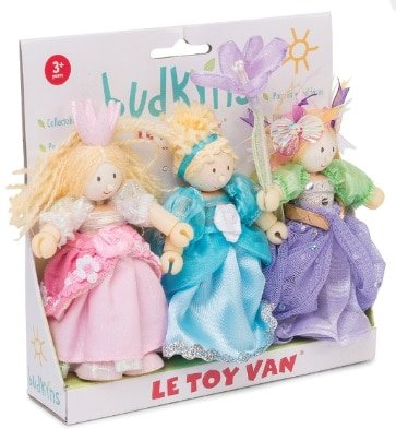 budkins princess doll set