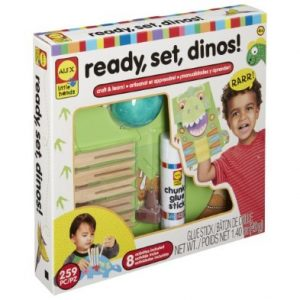 Ready, Set, Dinos Craft Kit