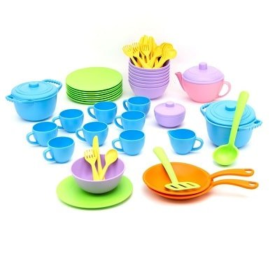 green toys classroom cafe set