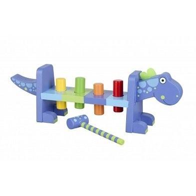 dinosaur hammer bench by orange tree toys