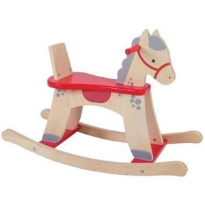 bigjigs rocking horse wooden toy