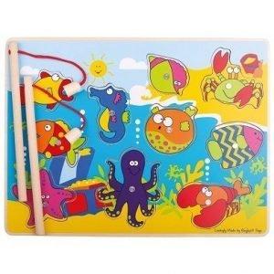 fun magnetic fishing game by bigjigs toys