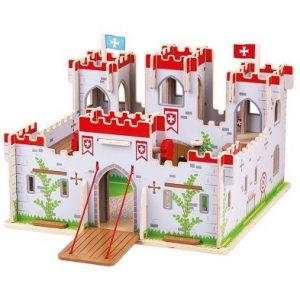 bigjigs king georges castle playset