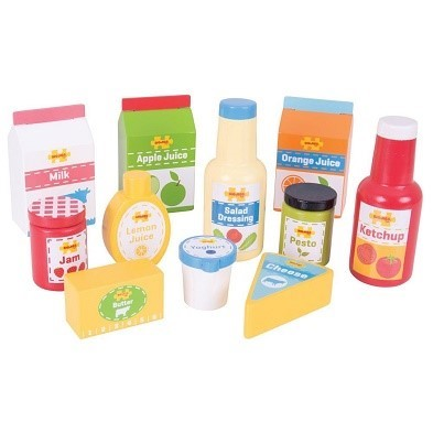 bigjigs chilled groceries playset