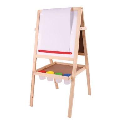 bigjigs junior art easel bj420 whiteboard