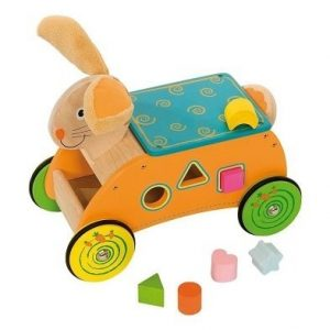 bunny ride on toy by bigjigs