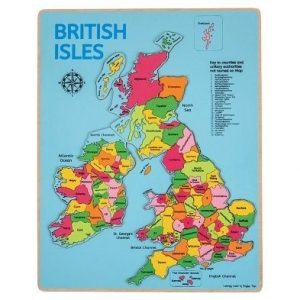 british isle inset puzzle by bigjigs