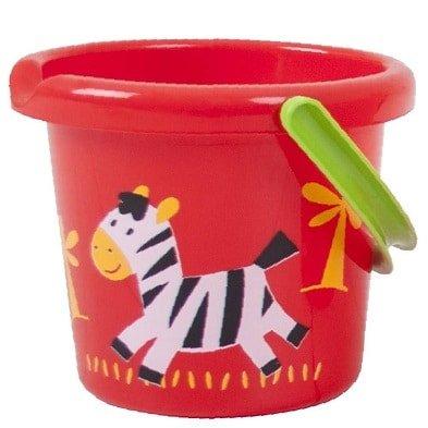 childrens buckets wild animal bucket zebra