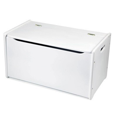 bigjigs white toy chest by tidlo