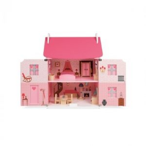 Janod Mademoiselle Dolls House with Furniture