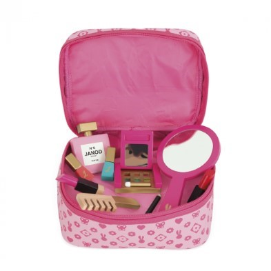 Little Miss Vanity Case Kids Makeup Play From Janod The Toy Centre