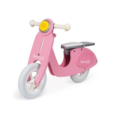 pink scooter mademoiselle janod
