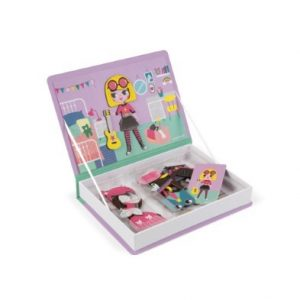 Girls Costume Magnetic Book