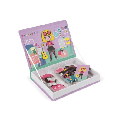magnetic book girls dressing magnets
