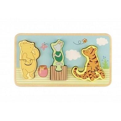 classic pooh mini puzzle tray by orange tree toys