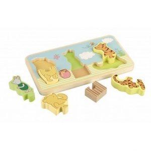 Classic Pooh Mini Puzzle Tray