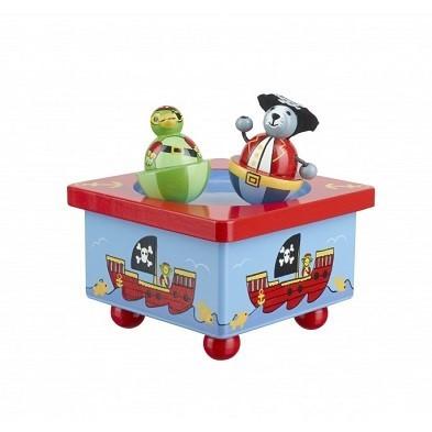 animal pirates music box by orange tree toys