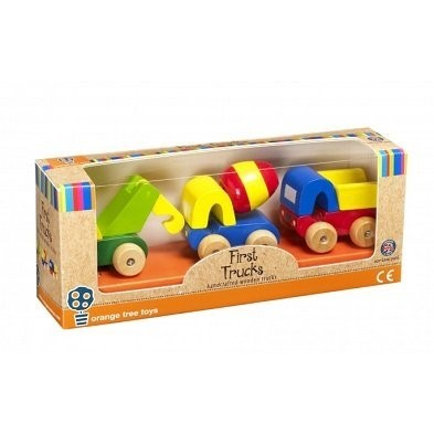 packaging orange tree toys first trucks OTT07237