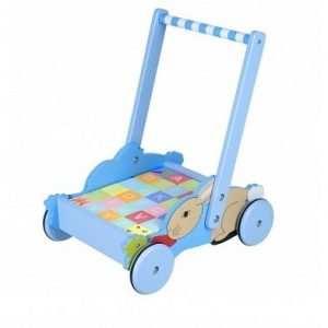 peter rabbit alphabet blocks trolley by orange tree toys