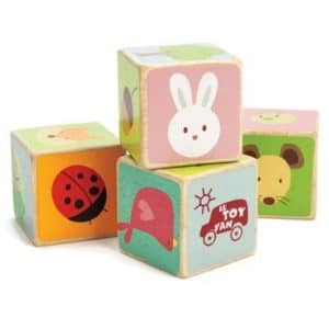 Little Leaf Wooden Blocks by Le Toy Van