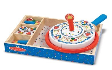 Melissa and Doug wooden Birthday Cake