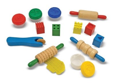 shape model and mould playdough set by melissa and doug