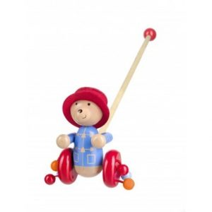 Orange Tree Toys Paddington Bear Push Along.