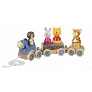 winnie the pooh puzzle train by orange tree toys