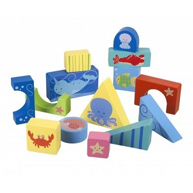 puzzle pieces sealife block puzzle by orange tree toys