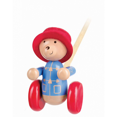 paddington bear push along by orange tree toys