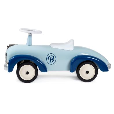 baghera speedster blue ride on car side 2