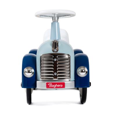 baghera speedster blue ride on car front