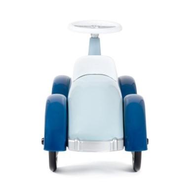 speedster car in blue