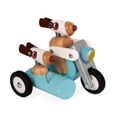 Janod spirit sidecar philip wooden toy