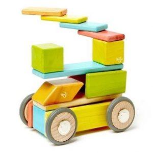 Tegu 42 piece set magnetic wooden blocks