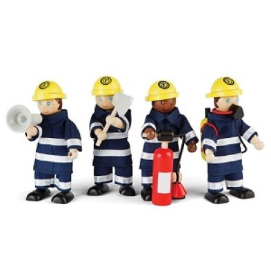 Tidlo Fire Fighters Set