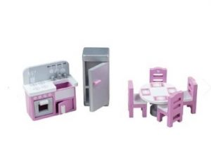 t0244 Tidlo dolls furniture kitchen set