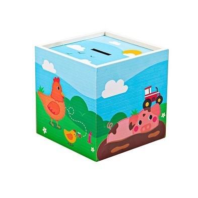 farm animal money box by tidlo