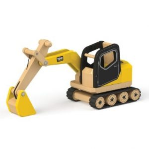 tidlo wooden digger toy